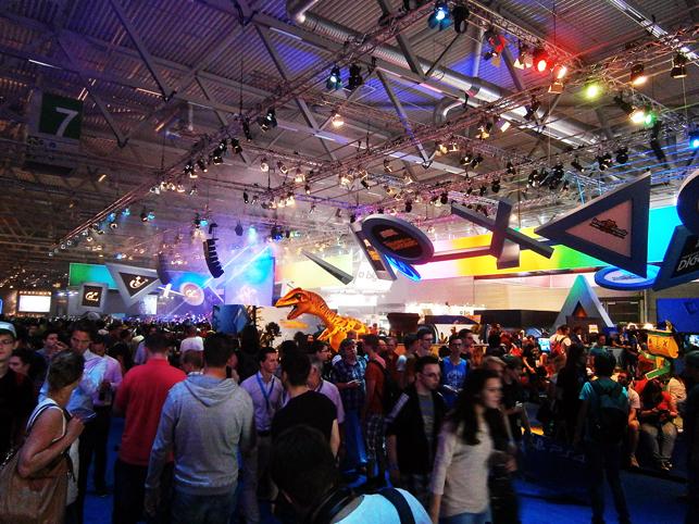 Stand de Sony en Gamescom 2013