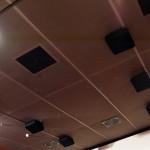 El sistema Dolby Atmos sitúa por primera vez cajas acústicas en el techo de la sala de cine.