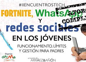 Fortnite, WhatsApp y redes sociales en los jóvenes